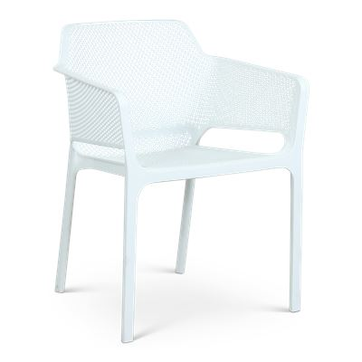 Bailey Resin Dining Chair White