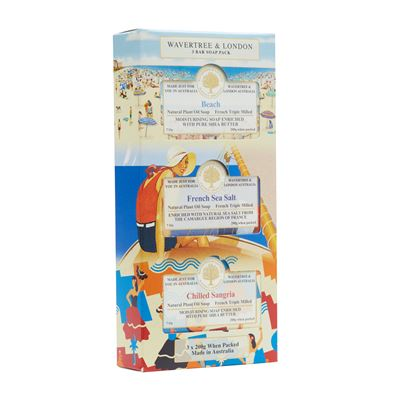 Trio Soap Pack Beach, Sea, Sangria