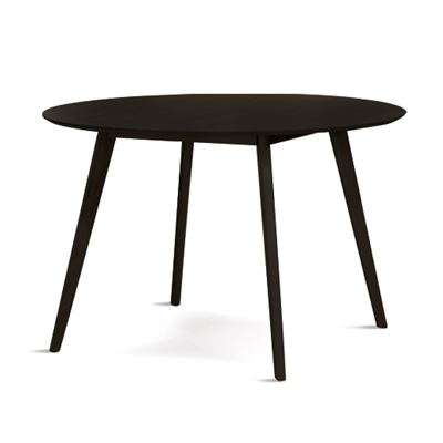 Ingrid Round Dining Table Black 120cm