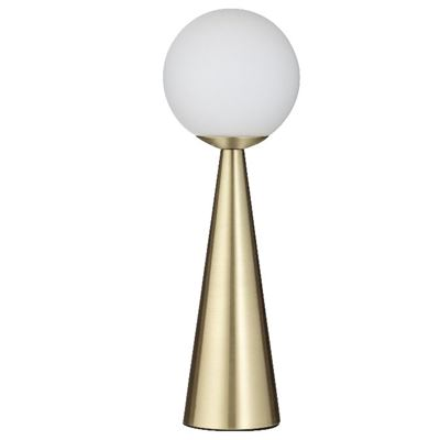 Orion Table Lamp Gold & White