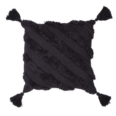 Mirage Cushion Black 50x50cm