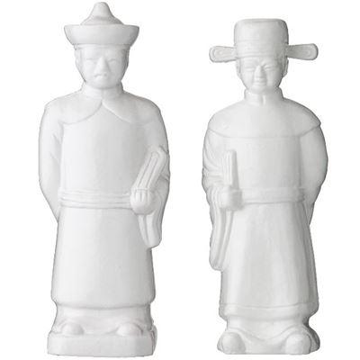 Mr Wu Sculpture 2 Assorted Designs White