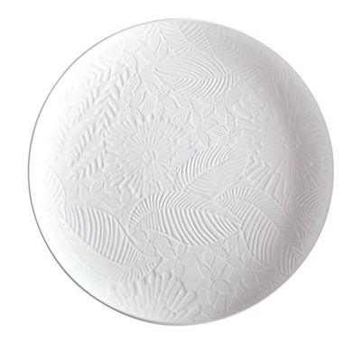 Panama Round Platter 36cm White Gift Boxed