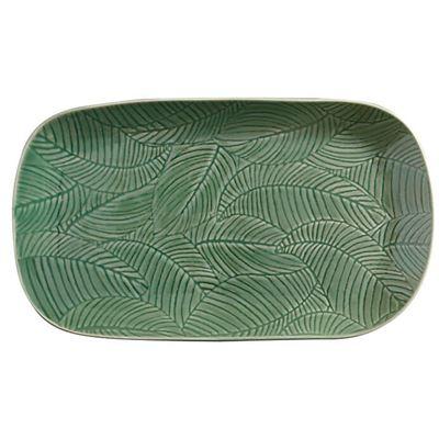 Panama Oblong Platter 34x19cm Kiwi Gift Boxed