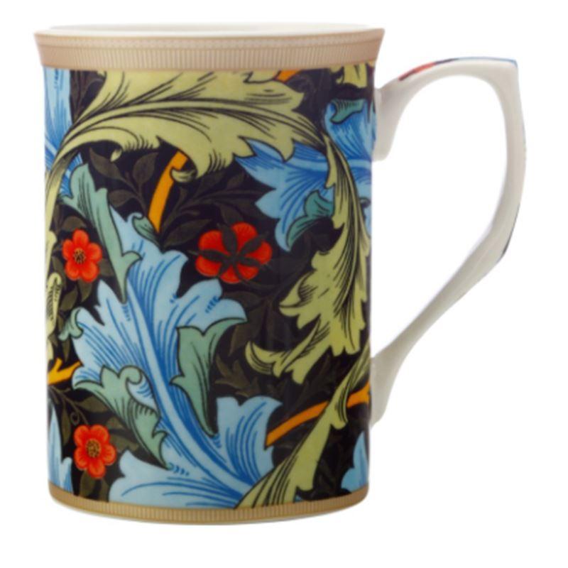William Morris Mug 300ML Blue Acanthus Gift Boxed