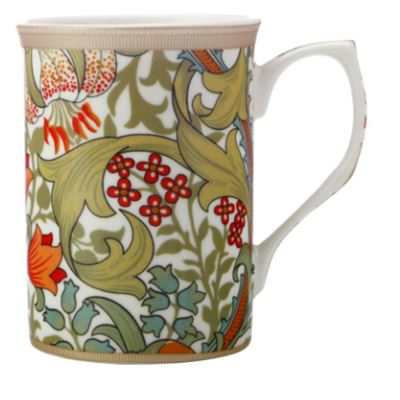 William Morris Mug 300ML Golden Lily Gift Boxed