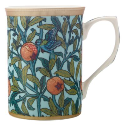 William Morris Mug 300ML Bird & Pomegranate Gift Boxed