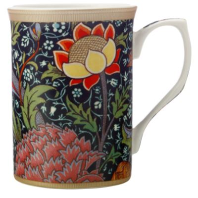 William Morris Mug 300ML Cray Gift Boxed