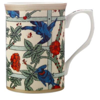 William Morris Mug 300ML Trellis Gift Boxed
