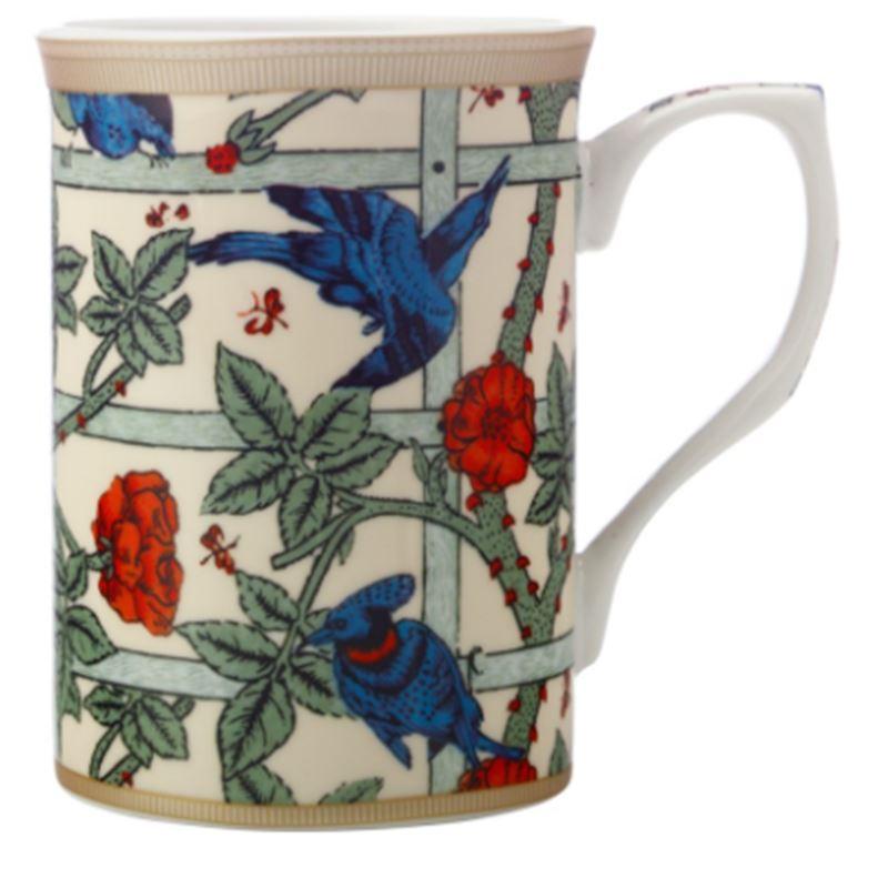 William Morris Mug 300ML Trellis Gift Boxed