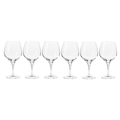 Harmony Pinot Glasses 600ML 6pc Gift Boxed