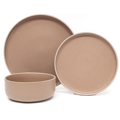 Hana Dinner Set Natural 12Pc