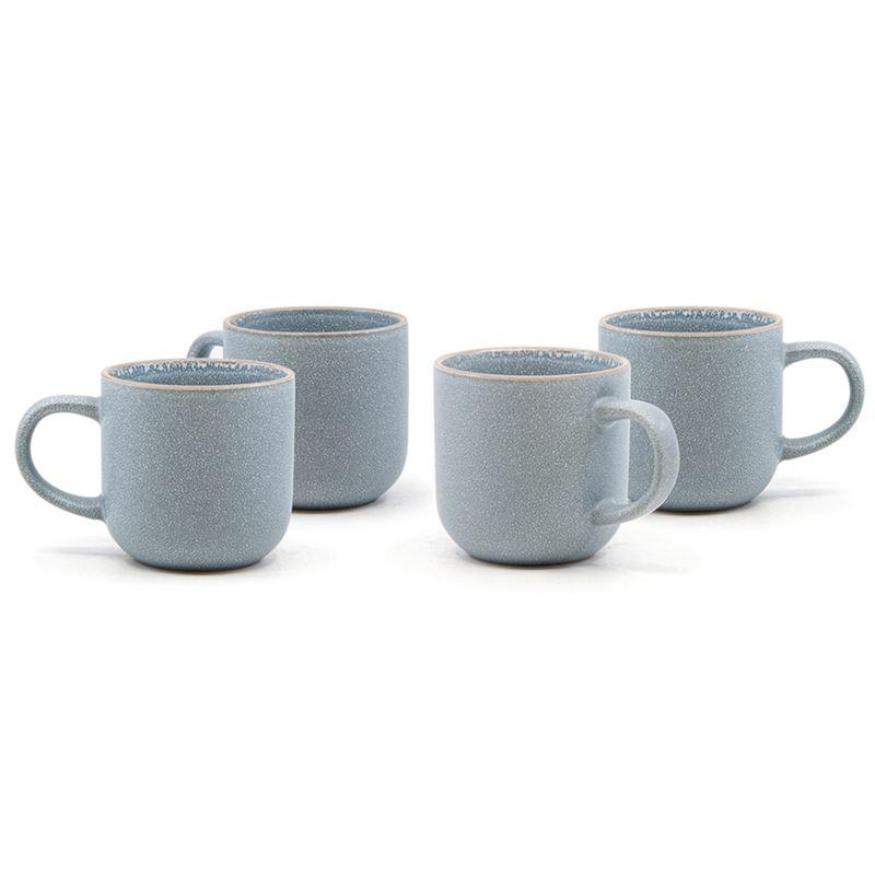 Hana Mug Light Blue 380ml Set of 4