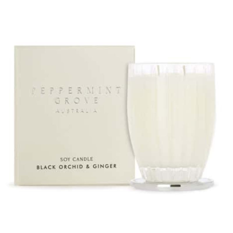 Black Orchid & Ginger – Large Soy Candle 350g