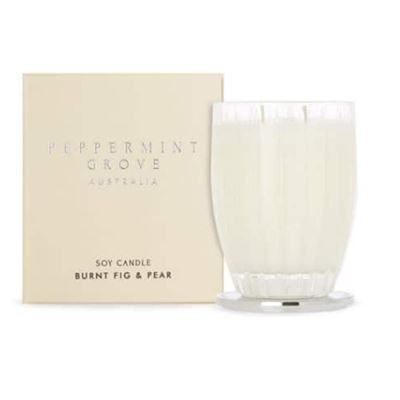 Burnt Fig & Pear - Large Soy Candle 350g