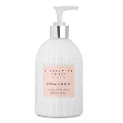 Freesia & Berries - Hand & Body Cream 500ml