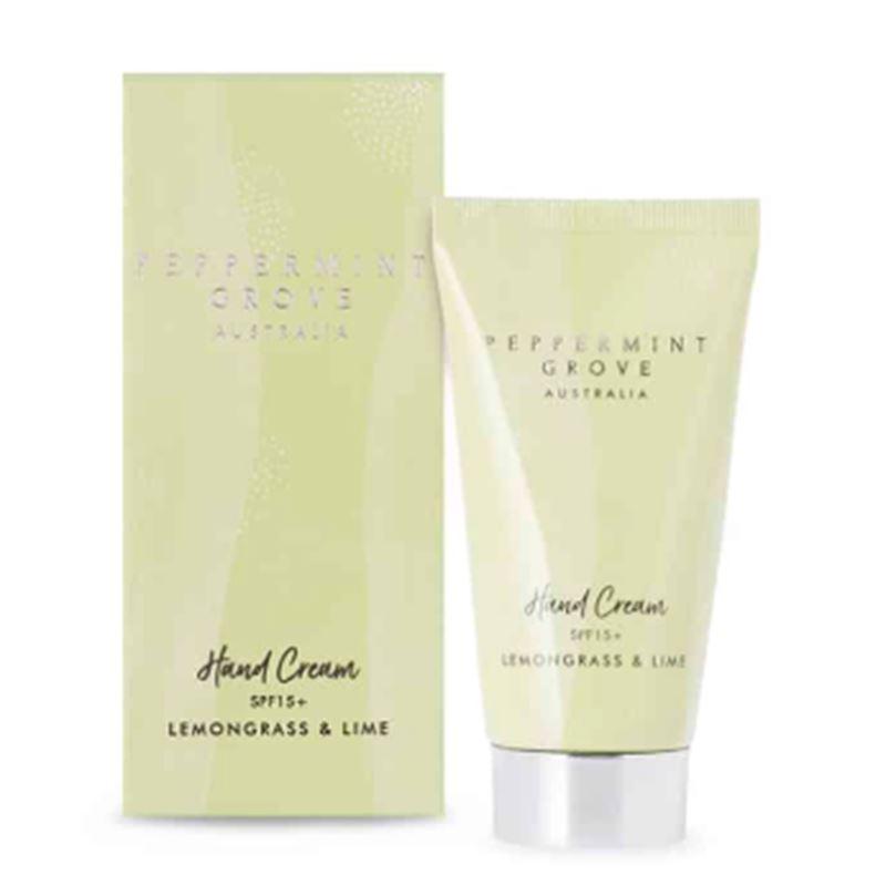 Lemongrass & Lime – Hand Cream Tube 75ml