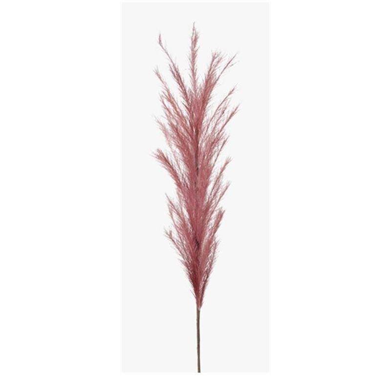 Pampas Grass Spray Mauve Pink 114cml