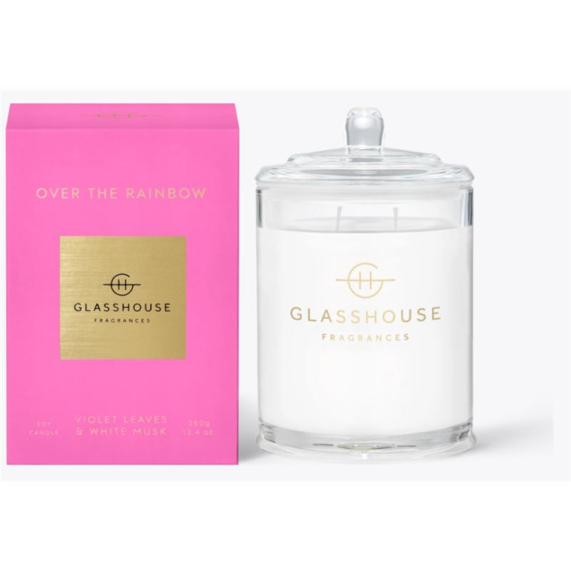 Over The Rainbow 380gm Candle