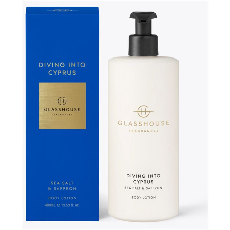 Diving Into Cyprus 400ml Body Lotion