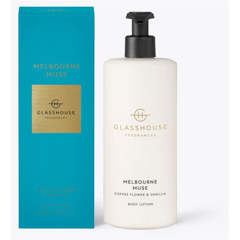 Melbourne Muse 400ml Body Lotion