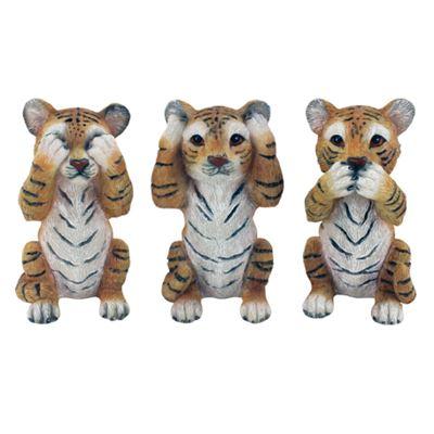 Hear/See/Speak Tiger Set of 3