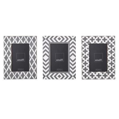 Palermo 4x6' Photo Frames 3 Assorted Designs