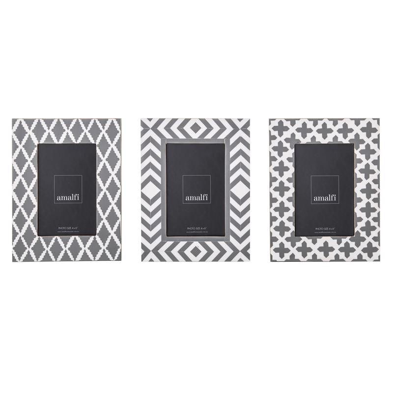 Palermo 4×6′ Photo Frames 3 Assorted Designs