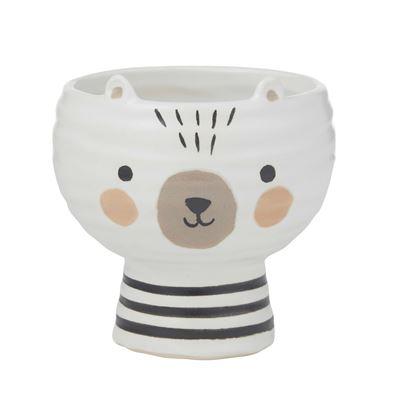 Olli Bear Pot 12.5x13cm