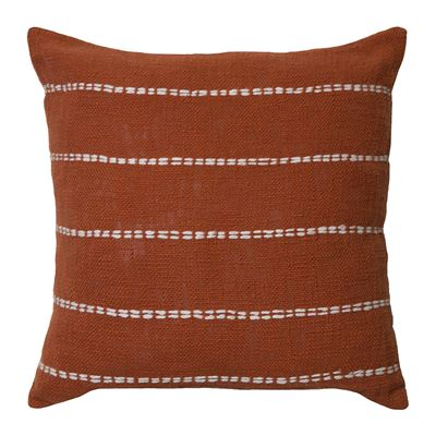 Sutton Cushion 50x50cm Burnt Orange