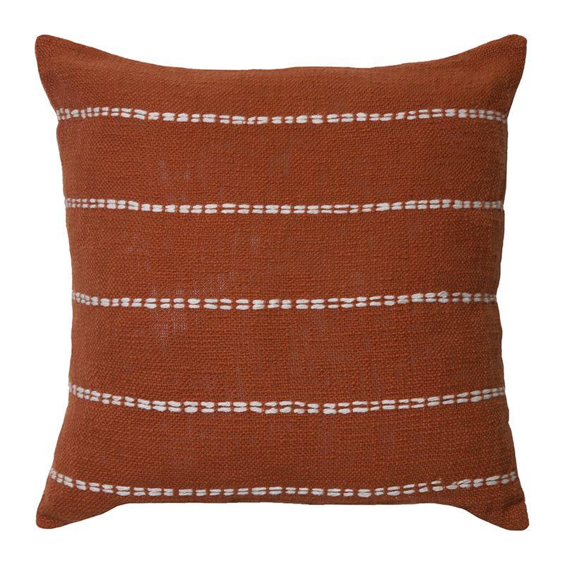 Sutton Cushion 50x50cm Burnt Orange