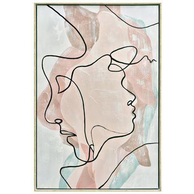 Profile Lines Painting 60x90cm