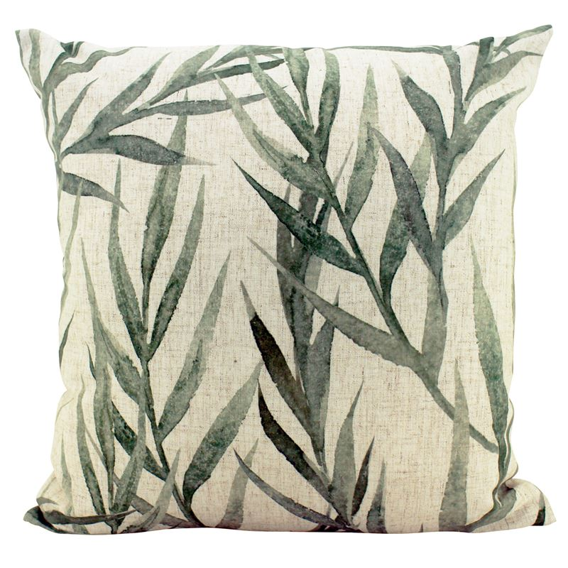Faded Greenery Cushion 50x50cm