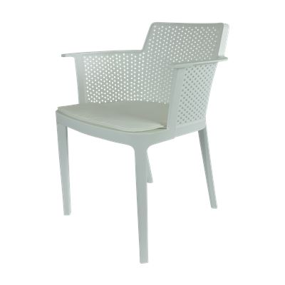 Formentera Indoor/Outdoor Dining Chair White