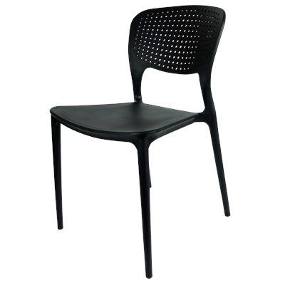 Granada Indoor/Outdoor Dining Chair Black