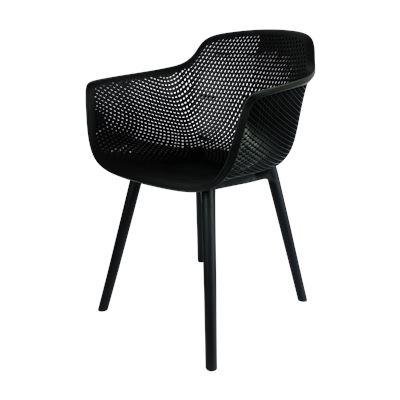 Marbella Indoor/Outdoor Dining Chair Black