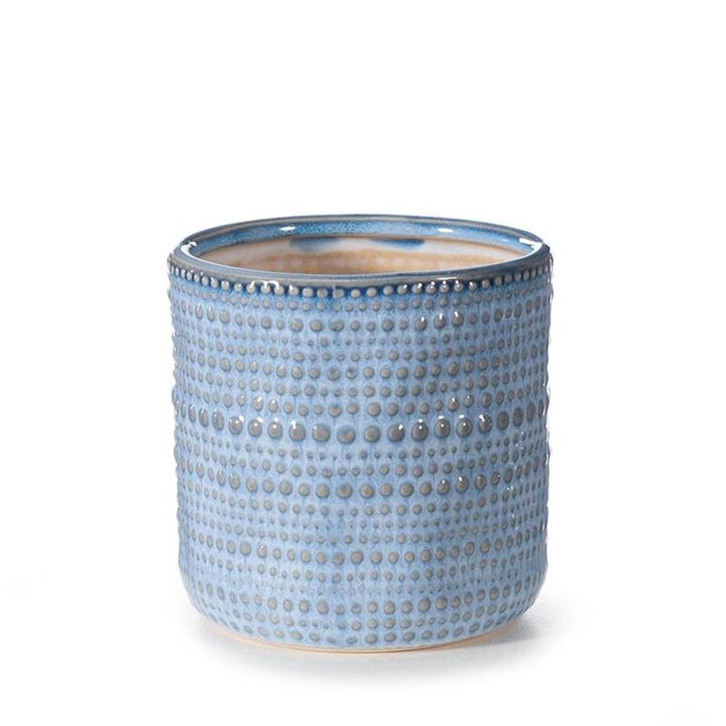 Pot Aegean Blue 11cm x 11cm