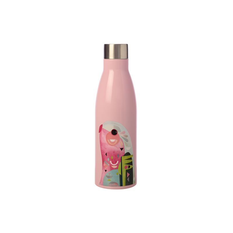 Pete Cromer Double Wall Insulated Bottle 500ML Parrot