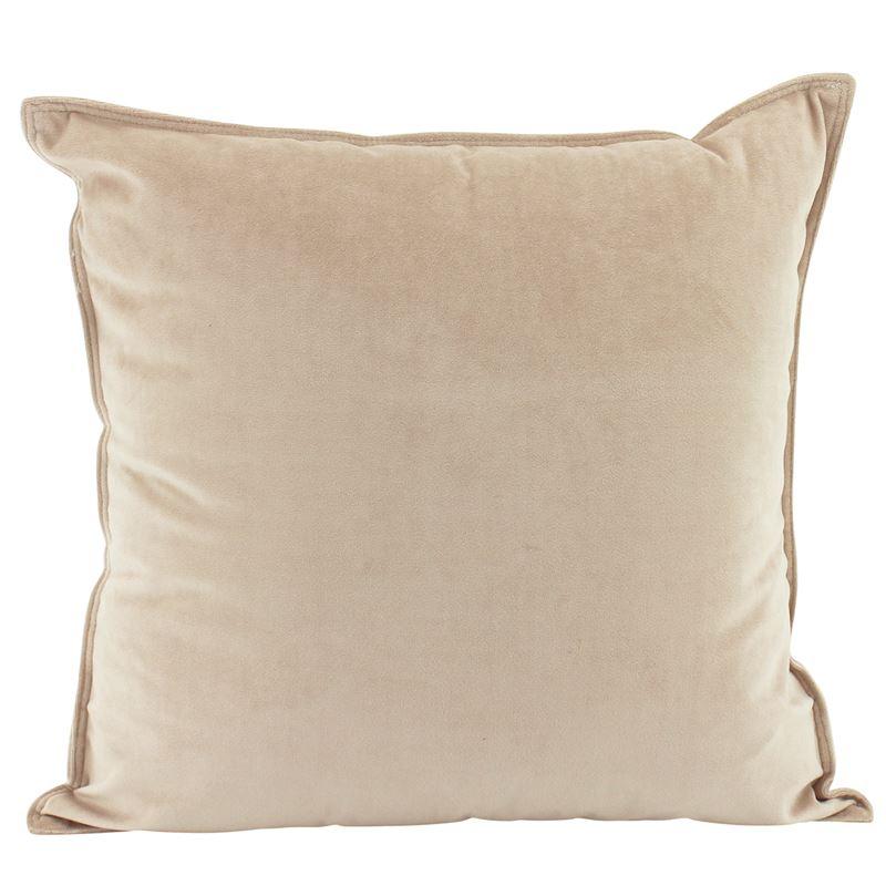 Velvet Cushion Nude 45x45cm