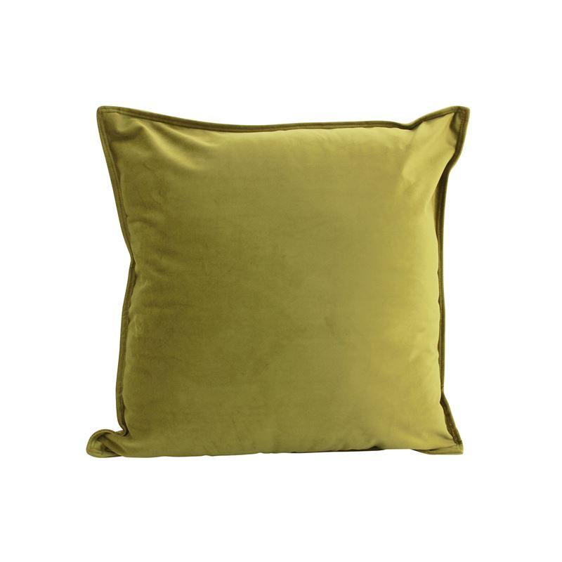 Velvet Cushion Gold 45x45cm