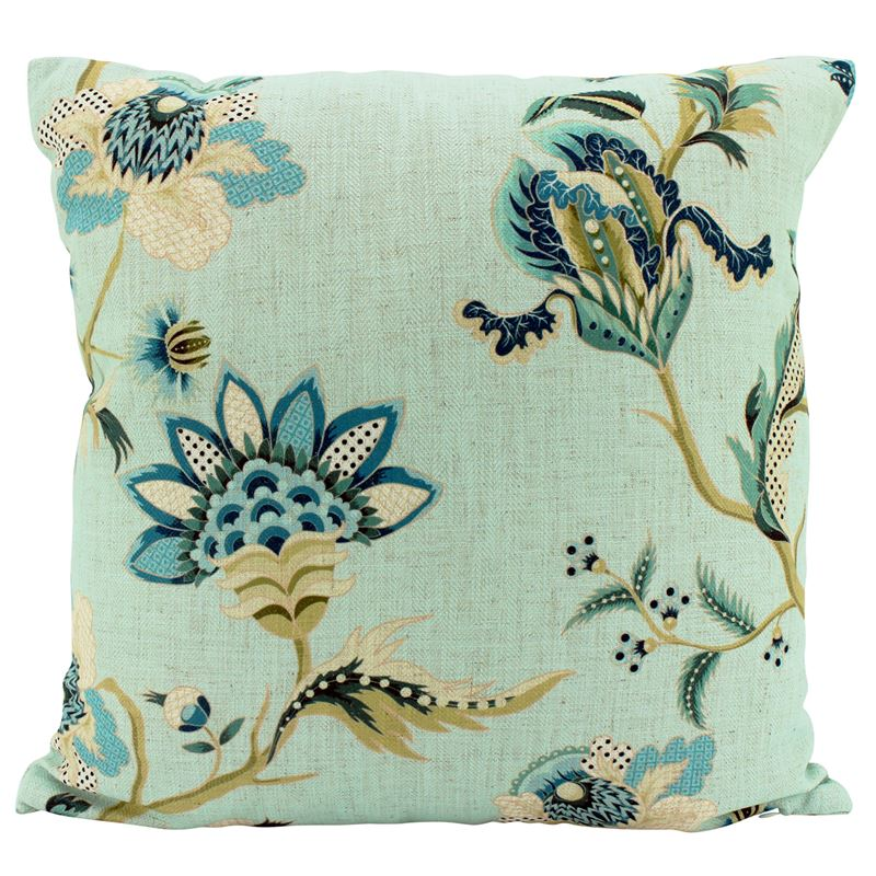 Sky Chino Linen Cushion 50×50
