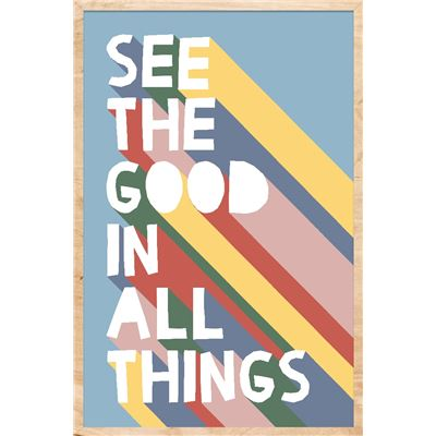 See The Good Wall Décor Multi