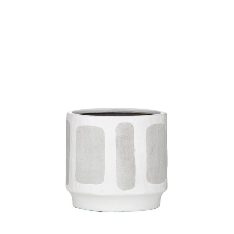 Sorrento Pot White/Grey Medium