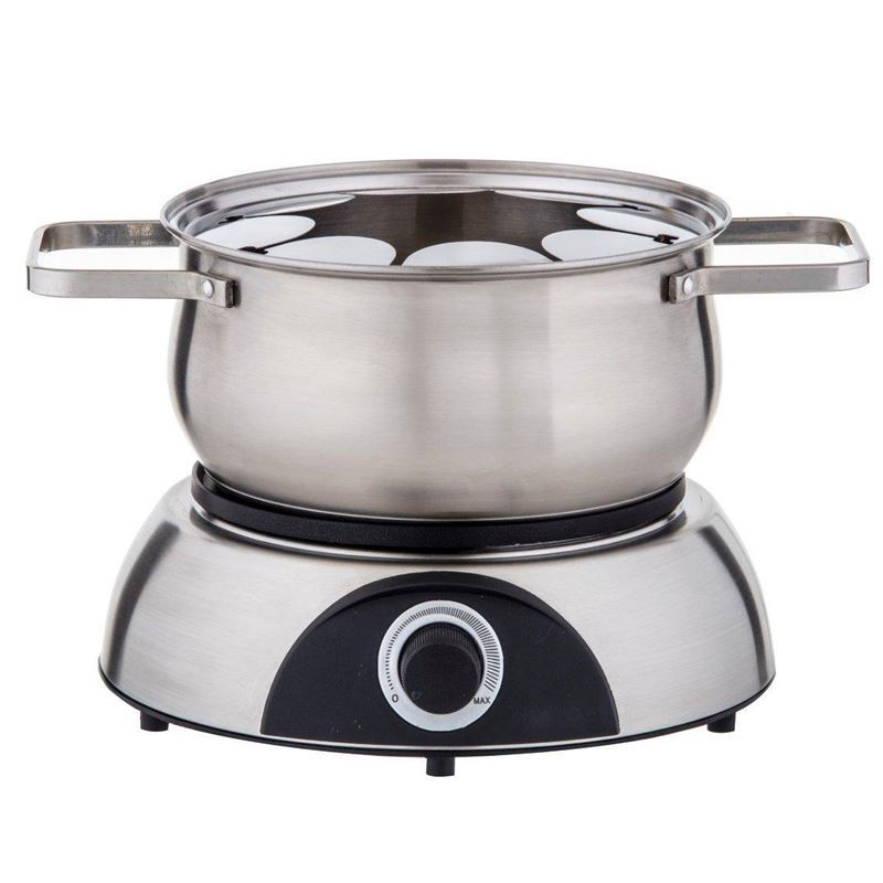 Electric Fondue Set 11pce Stainless Steel