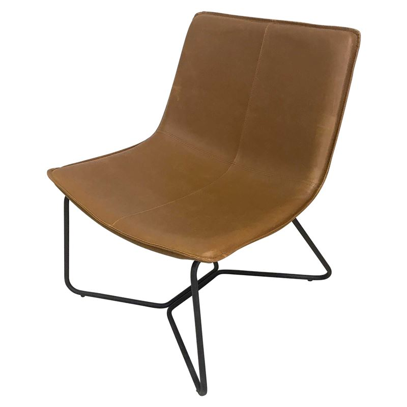 Harvey Slope Occasional Chair Tan