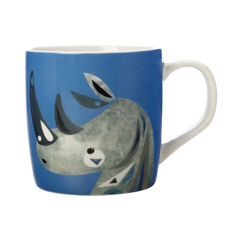 Pete Cromer Wildlife Mug 375ML Rhino Gift Boxed