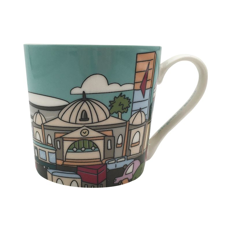 Megan McKean Cities Mug 430ML Melbourne Gift Boxed