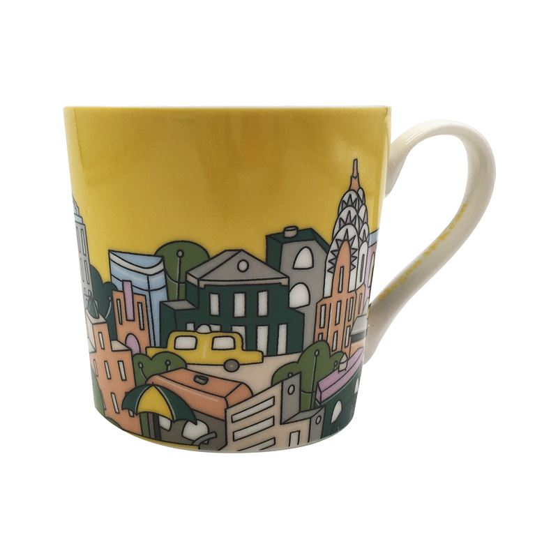 Megan McKean Cities Mug 430ML New York Gift Boxed