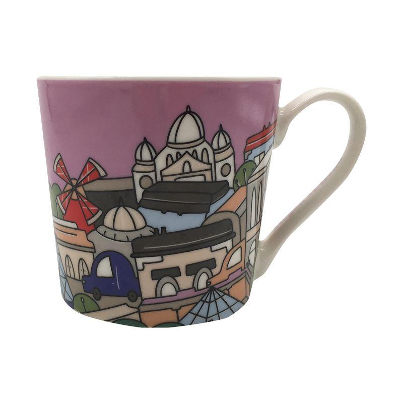 Megan McKean Cities Mug 430ML Paris Gift Boxed