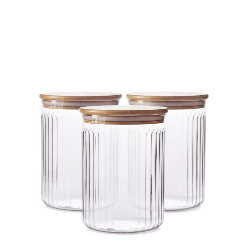 Brew Canister Set Glass 13x17cm Set of 3